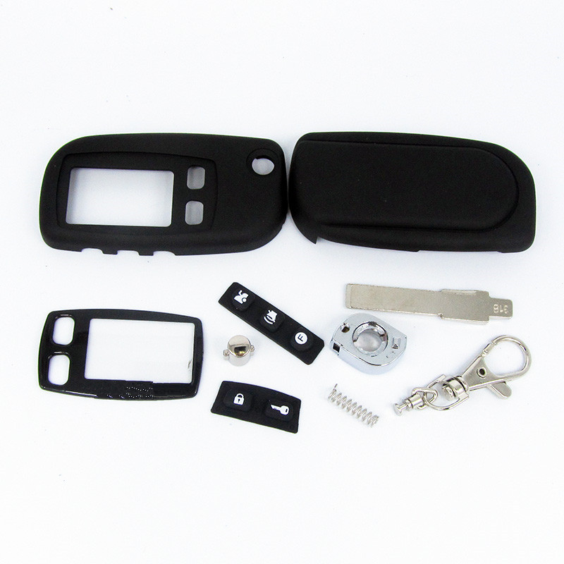 FOB alarm switchblade key for Tomahawk TW9010 TW9020 TW9030 uncut blade fob case cover TW9010 TW9030 folding car flip remote
