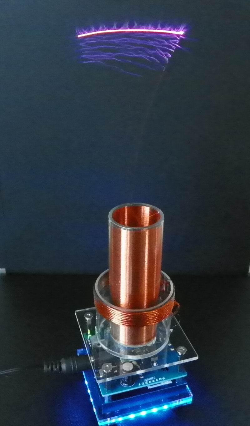 Musique bobine Tesla bobine Tesla bobine Tesla bobine Plasma haut-parleur