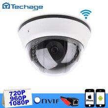 Techage IP Inalámbrica Cámara de Red de Interior de la Bóveda WIFI Cam 720 P 1080 P 1200TVL Visión Nignt P2P ONVIF de Seguridad CCTV vigilancia