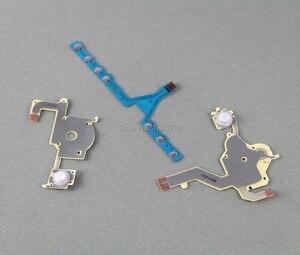 Image 4 - OCGAME 10 компл./лот Высококачественная замена направления перекрестная Кнопка Левая кнопка Регулировка громкости правая клавиатура гибкий кабель для PSP 3000 psp 3000