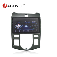 HACTIVOL 9 1024*600 Quadcore android 8.1 car radio gps navi for KIA Forte 2009 2016 car DVD player with 1G RAM 16G ROM