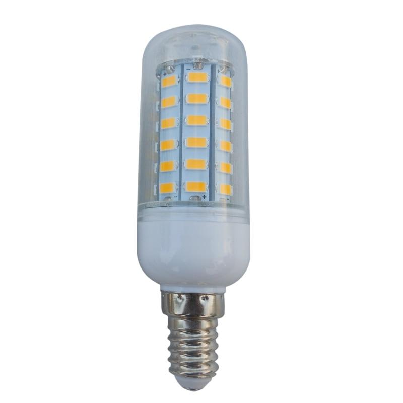ᐂE14 SMD5730 56 светодиоды 69leds 72leds 96leds AC220V 7 W ...