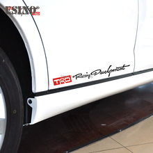 Buy Trd Toyota Stickers And Get Free Shipping On AliExpresscom - Vinyl decals for race carspopular trd vinyl decalbuy cheap trd vinyl decal lots from china