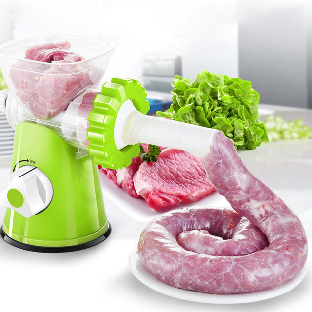 High quality multifunctional home manual meat grinder