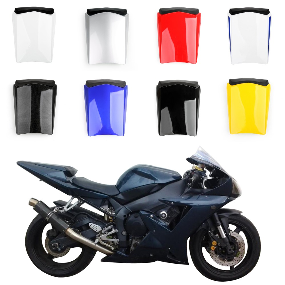 Areyourshop Motorcycle ABS Plastic Solo Rear Seat Cover Cowl For Yamaha R1 2002-2003 Fairing New Arrival Motorbike Part Styling