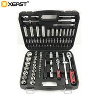 XEAST 94PC Socket Set Car Repair Tool Ratchet Set Torque Wrench Combination Bit a set of keys Chrome Vanadium