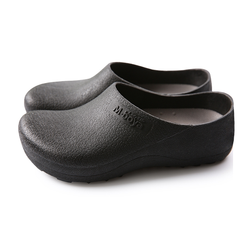 Shoes For Work In The Kitchen White Bar Stools Hot Sale Sandals Men Chef Male Breathable Beach Medical Working Sandal Garden Waterproof Black