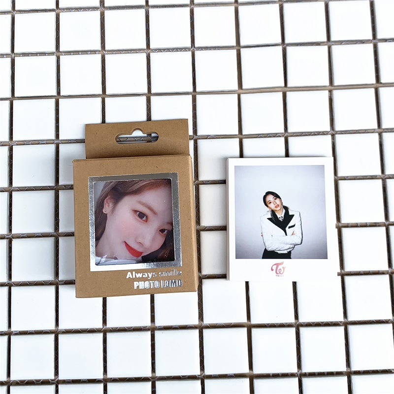 40Pcs/set KPOP Twice Lomo Photo Card PVC Cards Self Made Card Photocard