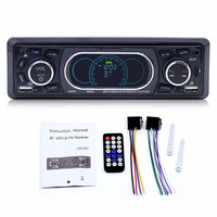 Bluetooth 1 Din Car Stereo Audio In Dash MP3 Radio Player Support USB/TF/AUX/FM Receiver with Wireless Remote Controller