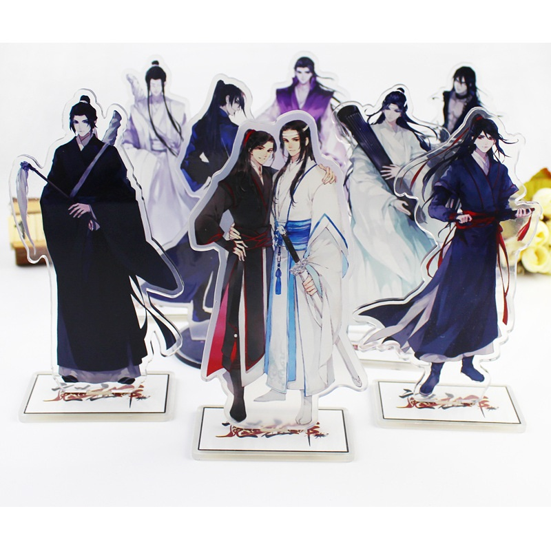 New Anime Mo Dao Zu Shi Large Characters Figurines Acrylic Ornaments Anime Around Fans Gift