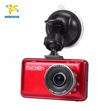 Car DVR 2.7 Ince Full HD 1080P Dash Cam with Cyclic Recording and Night Vision Tachograph Black Box( Red)
