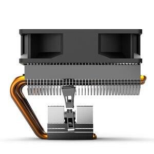 Image 4 - AIGO PC CPU Làm Mát Quạt 4 Heatpipes Quạt Tản Nhiệt CPU Tản Nhiệt Nhôm Tản Nhiệt Làm Mát CPU cho SOCKET LGA/115X/AM3/AM4/1366/2011