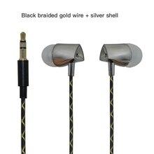 qijiagu 3.5mm Universal in-ear  Wired Earphones For PC computer Smartphones