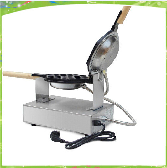 Stainless Steel mini computer controlled restaurant Eggettes machine; hongkong Egg Waffle Maker