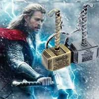 Legierung Die Avengers Thor Hammer Keychain Viking Die Dark World Schlüssel Finder Junge Spielzeug Thor Kette Ring Männer Schmuck Fans zubehör