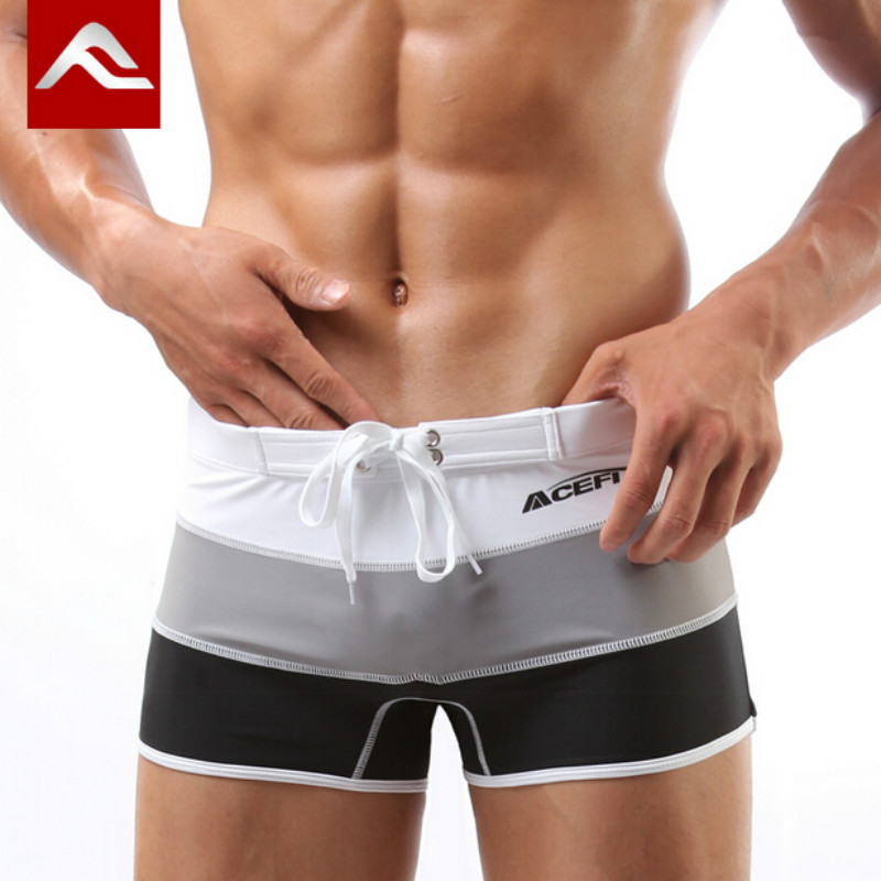 da7b9dce76 Detail Feedback Questions about Mens Swim Trunks Swimming Shorts for Swimwear  Men Swimsuit Beach Wear Surfing Sexy Gay Bathing Suit Boxer Briefs  zwembroek ...