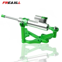 Z900 For KAWASAKI Z 900 2017-2018 CNC Aluminum Motorcycle Adjustable Motorcycles Steering Stabilize Damper Bracket Mount Kit