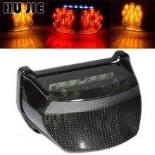 цена на Motorcycle Smoke LED Tail Light Turn Signal Integrated For Kawasaki Ninja ZX7R ZX 7R 1996-2003 97 98 99 00 01 02