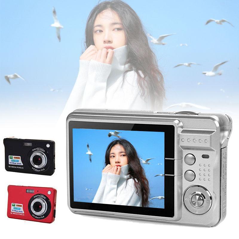 High Performance Digital Camera Digital Video Camcorder Photography Photo Selfie DC-K09 2.7 Inch 18 Million Pixels