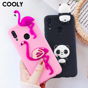 COOLY Silicone Case For Huawei Honor 10 Lite Cases For Huawei P Smart 2019 Cover on Honor 8A 8C 8X Coque Lovely 3D Toys Capa HOT(China)