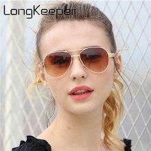 LongKeeper Naturel Bambou lunettes de Soleil Hommes Designer Surdimensionné  Miroir UV400 En Bois Pilote Lunettes de Soleil Lunet. baee41a0838e