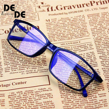 New Anti Light Glasses Ray Blue Fashion Anti Blue Fatigue Protection Blocking Goggles Eye Square Radiation Computer цена