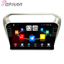 """Free Shipping 10.1"""" Quad Core Android 4.4 Car PC GPS For Peugeot301/Elysee 2013 2014 2015 2016 With Stereo Radio Without DVD"""