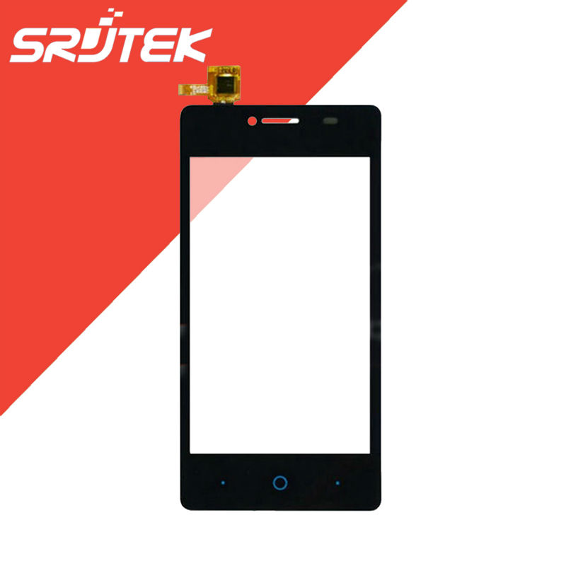 4 inch for ZTE Blade AF3 T221 Touch Screen Digitizer Sensor Outer Glass Black Replacement Prats