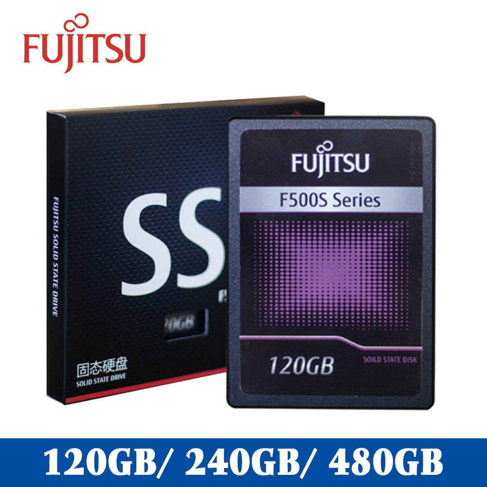 "FUJITSU 2.5"" Ssd 240 Gb 120GB 480GB SATA III 3D NAND Flash SMI/Phison/Realtek TLC 500MB/s Solid State Drives For Desktop Laptop(China)"