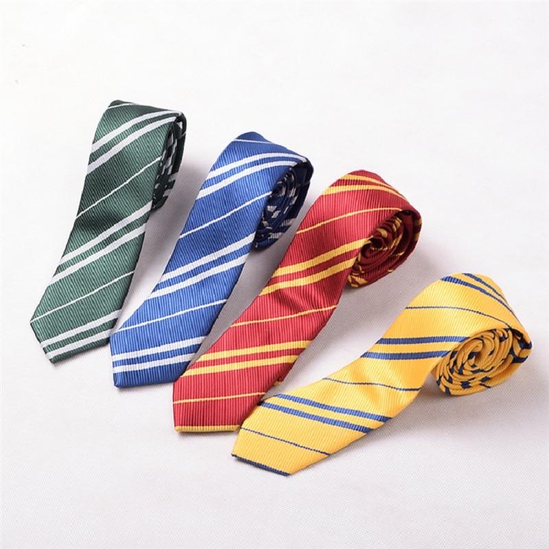 Striped Slim Tie For Man School Ties Boys Mens Neckties