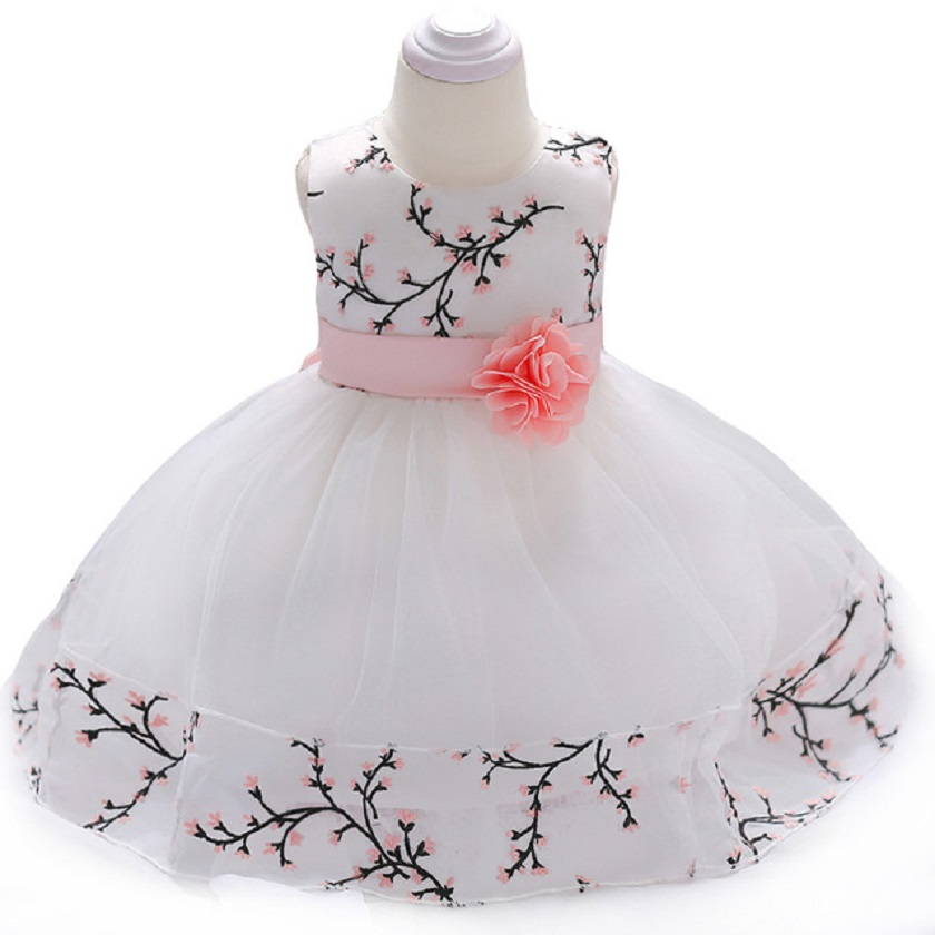 2018 Summer Baby Girls Princess Dress For Girls Party Dresses Infant 1 Year Birthday Dress vestido infantil Newborn Baby Clothes