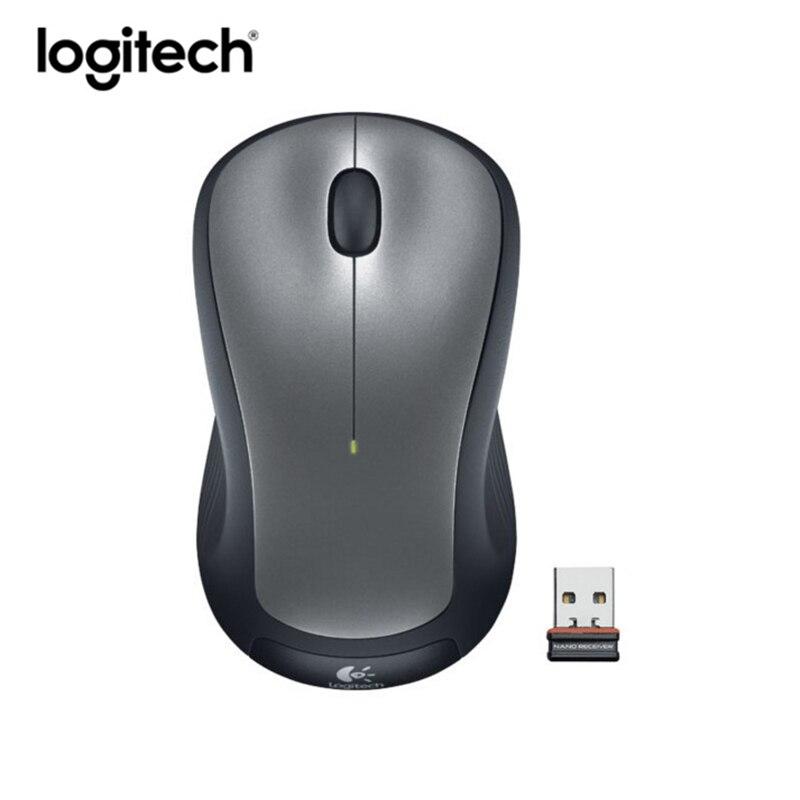 Logitech M275 2.4G Wireless Mouse 1000DPI Gaming Laptop PC Optical White Mice
