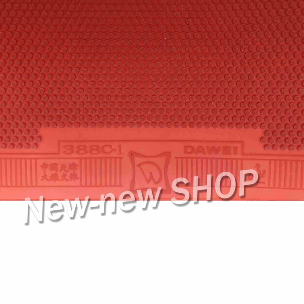 Dawei 388C-1 Half Long Pips-Out Table Tennis PingPong Rubber With Sponge