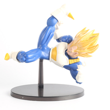 Dragon Ball Figure 35# 15cm  THE VEGETA Battle Action Figures Kids Toys Japanese Anime Figures SYP-0035