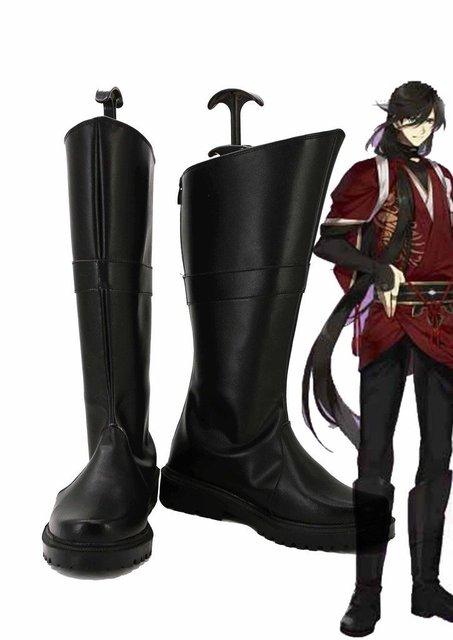 Touken Ranbu Online Game Izuminokami Kanesada Cosplay Shoes Boots Custom Made