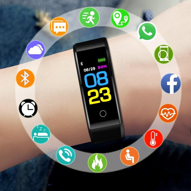 Uhren Sport Armband Smart Uhr Männer Elektronische Led Digital Handgelenk Uhren Für Männer Uhr Männliche Armbanduhr Stunden Smartwatch Relog Herrenuhren