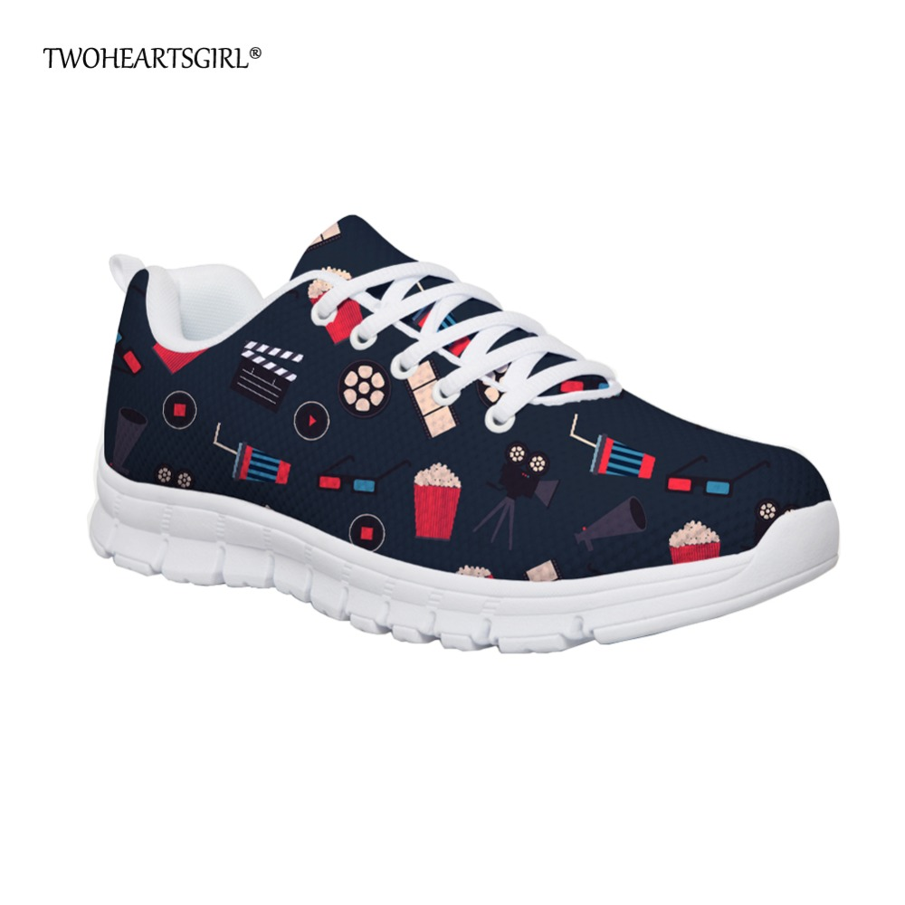 Twoheartsgirl Fashion Women Flats Shoes Breathable Spring Summer Mesh Sneakers Zapatos Mujer Classic Women's Casual Flat Shoes summer outdoor walking shoes women sneakers breathable flat mesh vulcanize shoes fashion comfortable women casual shoes ddt103