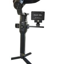 цена на for DJI Ronin S Accessories Extended Board Bracket Alloy External Mount Plate Monitor Holder for DJI Ronin S Handheld Gimbal