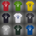 Young men and teenagers t-shirt cotton hip hop size XXS-3XL