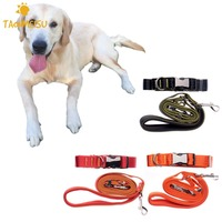 3 Colors Walking Running Jogging Pet Dog Leash Hands Free Nylon Dogs Leashes Lead Collars For