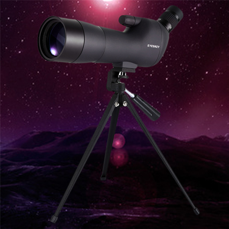 60x60 HD Monocular Telescope Outdoor Camping High Power Telescope Compact Spotting Scope Bird Watch with Tripod Mount купить