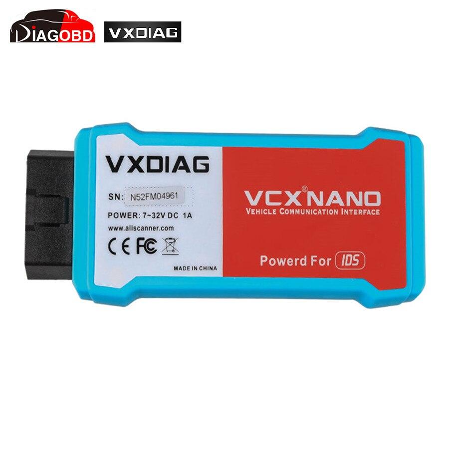 Prix pour WIFI version VXDIAG VCX NANO pour Ford/Mazda 2 en 1 avec IDS V97 VXDIAG pour Ford/Mazda avec WIFI