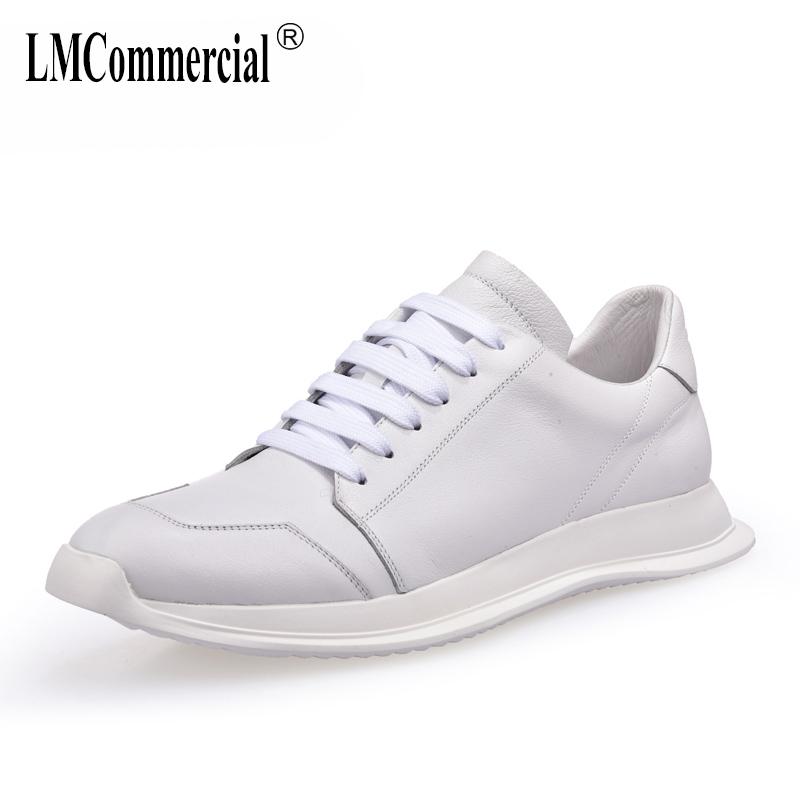 spring autumn summer 2018 new leather men's shoes all-match cowhide casual shoes men breathable sneaker fashion Leisure shoes 2017 new autumn winter british retro men shoes zipper leather breathable sneaker fashion boots men casual shoes handmade