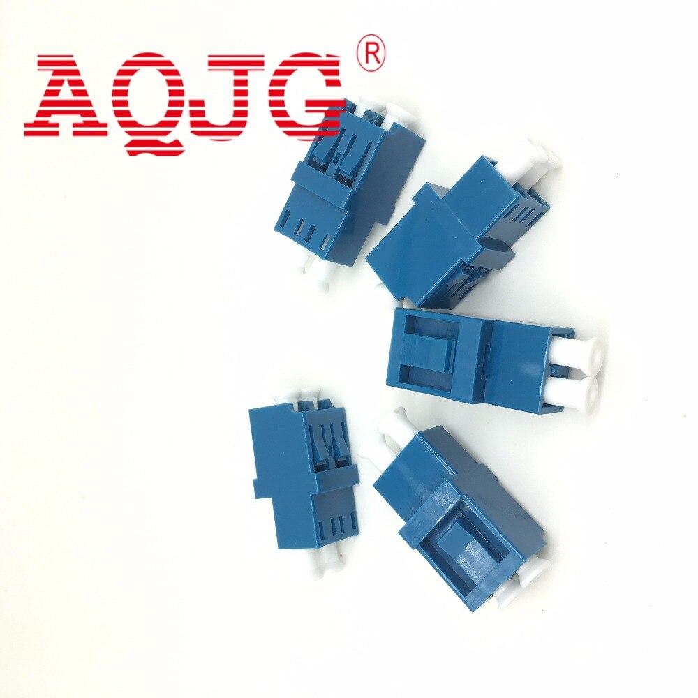10pcs Carrier Class LC LC adapter Fiber Optic Cable Connector Optical Fiber Flange Fiber optic adapter AQJG