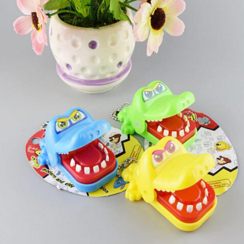 2018 Hot Large Crocodile Jokes Mouth Dentist Bite Finger Game Joke Fun Funny Trick Toy Antistress Gift Kids Child Family Prank
