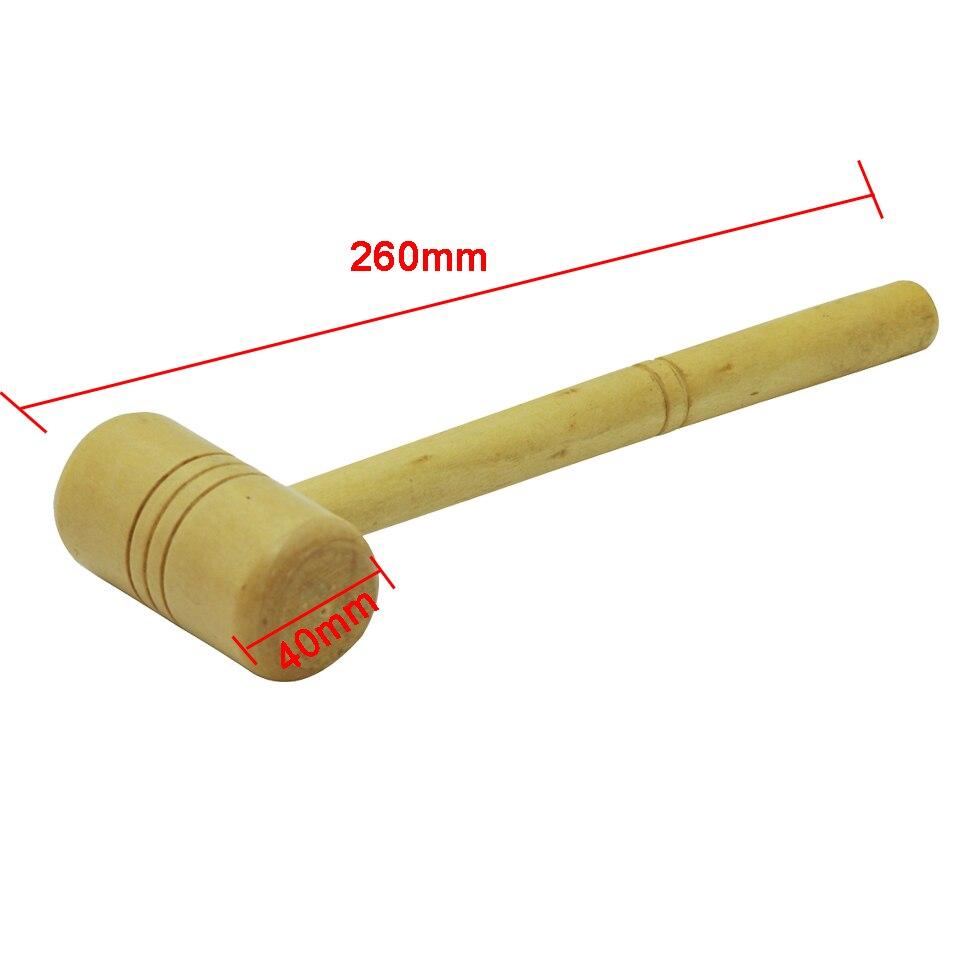 Testa diametro 40mm Martello in legno Gioiellieri Argentiere - Utensili manuali - Fotografia 2
