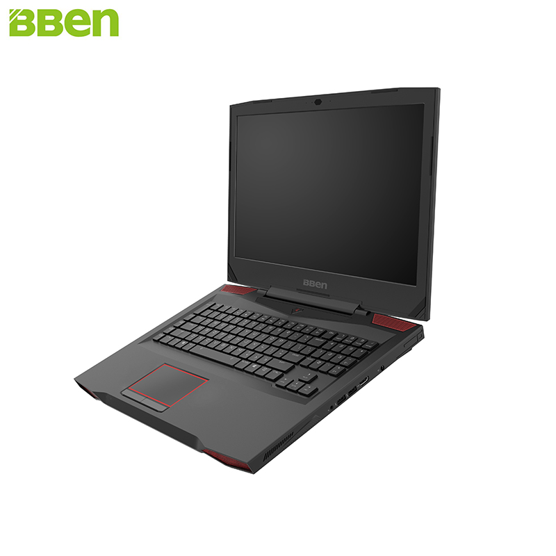 BBEN Laptop Gaming Computer Intel i7 7700HQ Kabylake NVIDIA GTX1060 Windows 10 DDR4 8GB RAM RGB Mechanical Keyboard WiFi BT4.0