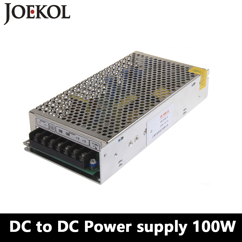 SD-100 DC to DC switching power supply,100W dc power supply for Led Strip,DC 19V~144V Transformer to 5v 12v 24v 48v ce rohs approved 150w dc to dc converter sd 150c 24 48v to 24v led power supply