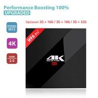 H96 Pro TV Box Amlogic S912 3GB 32GB Octa Core Android 7 1 OS BT 4