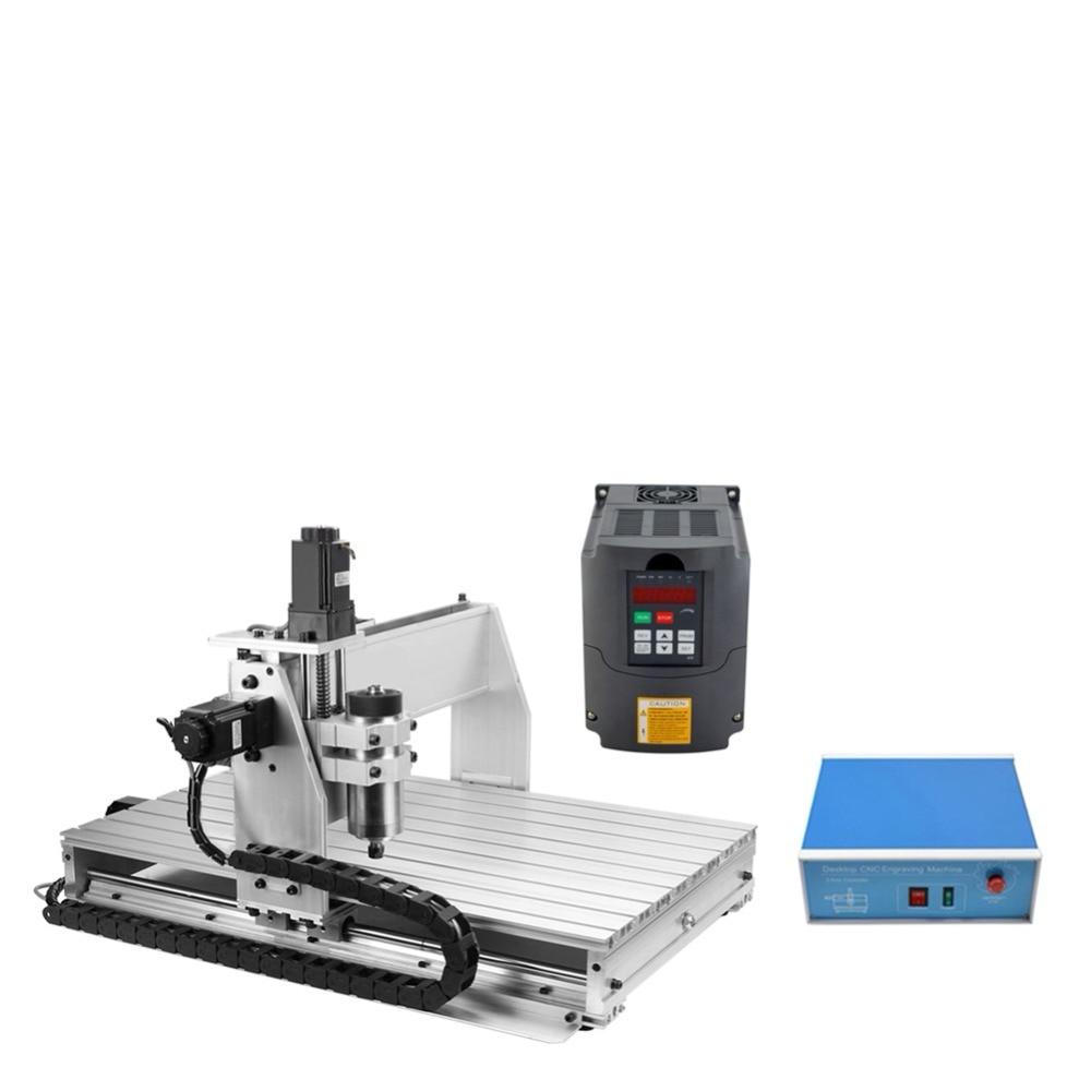 CNC 6040 máquina de grabado 3 ejes escritorio CNC fresadora para trabajo en madera
